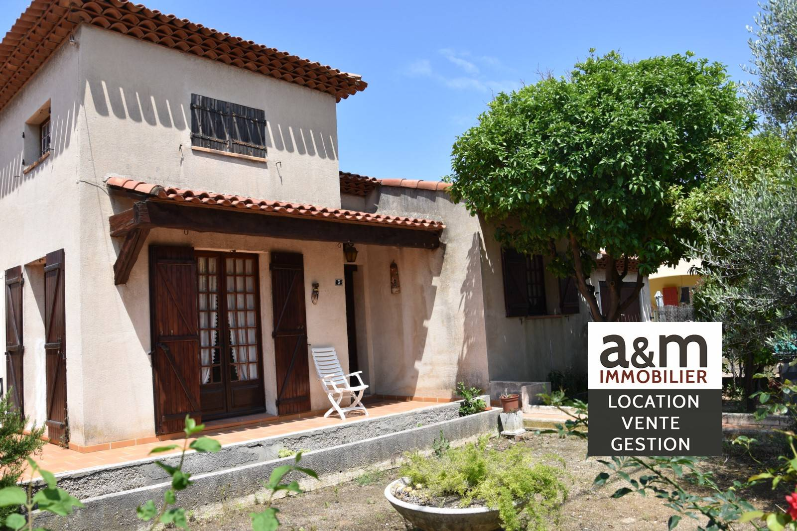 Acheter Maison A Renover A Chateauneuf Les Martigues Avec 3 Chambres Et Garage A M Immobilier